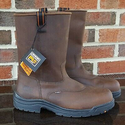 ad2fcafe526 TIMBERLAND PRO SERIES Titan Safety Toe Size 9 M Work Boot Composite ...