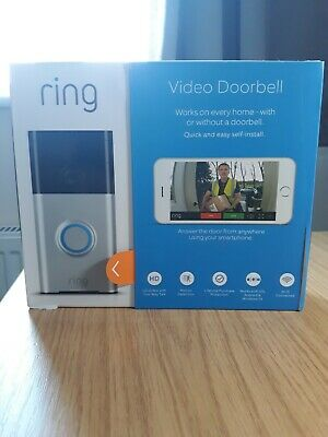 Ring Video Doorbell  HD video doorbell with motion-activated notifications