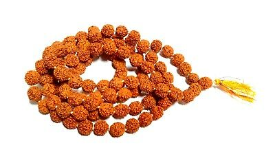 Rudraksha Mala 5 Mukhi Rudraksh Rosary Mala 5 Mm Beads Size Necklace Energized