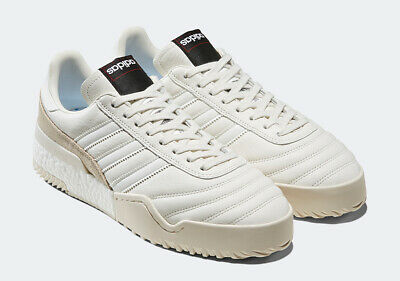 NWB ADIDAS BY Alexander Wang AW BBall Soccer Sneakers EE8498 White Pearl Sz 10.5