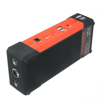 Car Jump Starter 2000A Peak Current 24000MAh Booster Battery Power Bank Charger