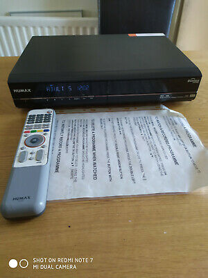 Humax PVR 9200 TB Twin Digital TV Tuner recorder 160 GB