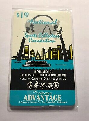 1995 16th National Sports Collector's Convention Phone Card LE