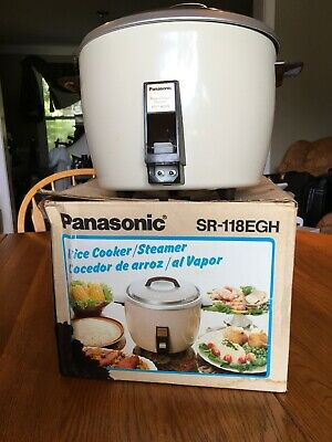 panasonic sr-118EGH Rice Cooker