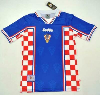 Croatia World cup 1998 retro soccer jersey Football t shirt