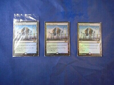 MTG Magic the Gathering Sealed Prerelease Foil Temple of Mystery Core Set 2020