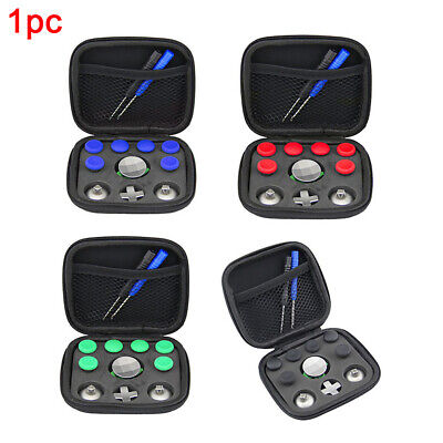 Metal Button Set Game Controller Thumbstick Gamepad Parts for XBOX One Elite