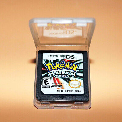 Pokemon:Platinum version (Nintendo DS,2009) Game Card for 3DS NDSI NDS UK B3N9D
