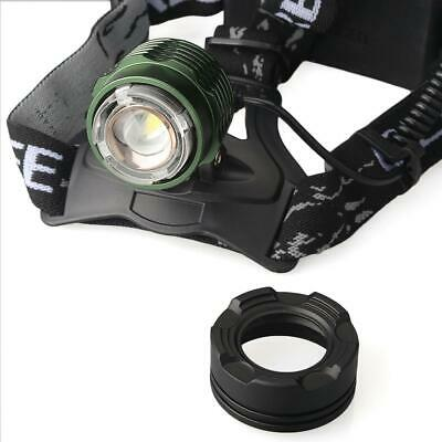 12000LM T6 LED Zoomable Rechargeable Headlamp Head Light Lamp Zoom Adjust Focus