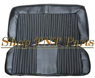 1972 Barracuda Challenger Back Seat Covers Coupe Rear Upholstery Skins Cuda