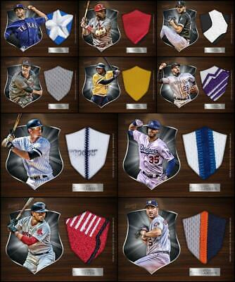 Topps BUNT PLAQUES 2019 [10 CARD SILVER RELIC SET] Bellinger/LeMahieu/Bell+++