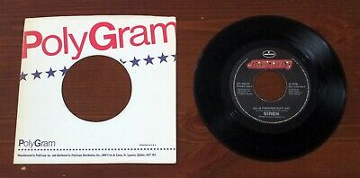 "SIREN - All Is Forgiven RARE Canadian PROMO 7"" 45 EX!"