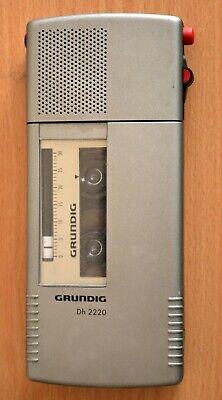 Grundig Stenorette Dictaphone DH 2220 with cassette