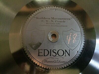 Edison Diamond Disc 80064 - Kathleen Mavourneen/Beautiful Isle Of Somewhere
