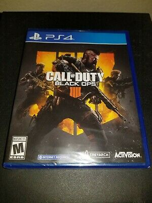Call of Duty: Black Ops 4 for PS4 - Sony Playstation 4 - New Factory Sealed