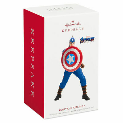 Captain America Limited Edition 2019 Hallmark Ornament Marvel Avengers End Game