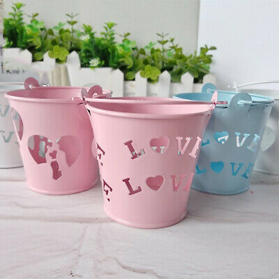 Mini Bucket Wedding Metal Candy Box Party Souvenirs Accessories Newest