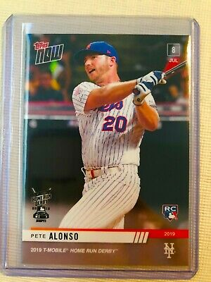 2019 Topps Now Pete Alonso RC HRD-2 HR Home Run Derby Champ Winner Rookie Card