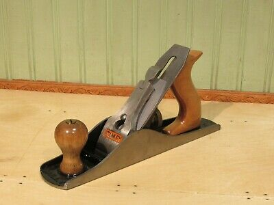 Stanley No. 5 1/4 Bailey Smooth Bottom Plane Woodworking Carpentry Tool Type 18