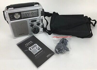 Eton FR-300 Multi-Purpose Emergency AM/FM Weather Cranked Radio Silver