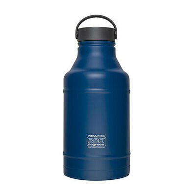 DARK BLUE 360 Degrees Growler Water Bottle 1.8L