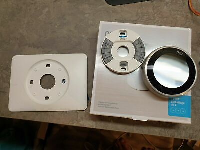 Nest Learning Thermostat - 3rd Generation - Stainless Steel - 3H/2C