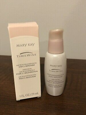 Mary Kay Timewise Microdermabrasion Step 2:Replenish 1fl.oz./29ml NEW IN BOX