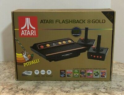 Atari Flashback 8 Gold HD 120 Built-in Classic Games 720P - AR3620 Activision
