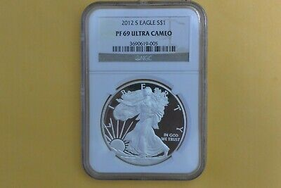 2012-S Silver Eagle PROOF NGC PF 69 UCAM