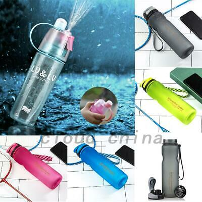 Outdoor Sports Drinking Water Bottle Leak-Proof Cycling Travel Camping Cup AU