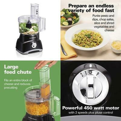 Hamilton Beach Food Processor, Slicer and Vegetable Chopper with Compact...