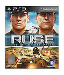 RUSE Game for PS3 (PAL) VGC with Manual