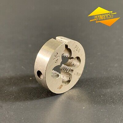 "*Near New* P&N 3/8"" Unf Button Die 1"" Diameter Made In Australia P&Nbd1"