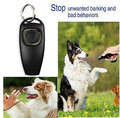 2 in 1 Dog cat Training clickers Durable Pet Training Clicker,Training Pets Pet