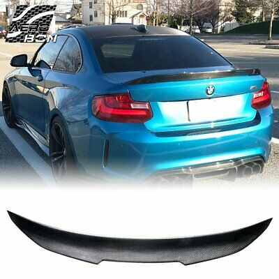 Carbon Fiber PSM Style High Kick Trunk Spoiler for 2009-16 BMW F10 5 Series /& M5