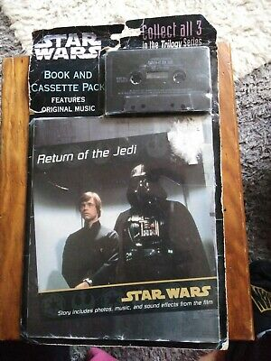 Starwars Book And Cassette Pack Return Of The Jedi