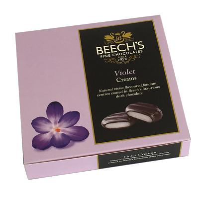 Beech's Fine Chocolates - Dark Chocolate Violet Creams 90g x 3