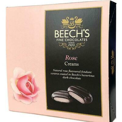 Beech's Fine Chocolates - Dark Chocolate Rose Creams 90g x 3