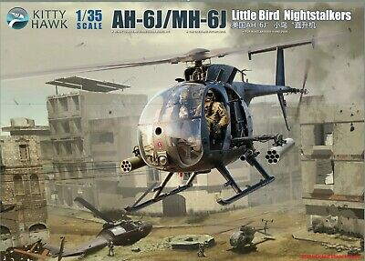 AH-6/MH-6 LITTLE BIRD + Delta Force Upgrade - Brickmania Custom