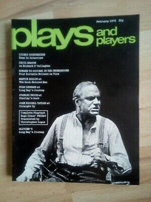 Plays and Players - February 1972