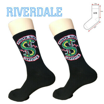 Riverdale cotton Basketball Socks South Side Serpents long Ankle cosplay socking