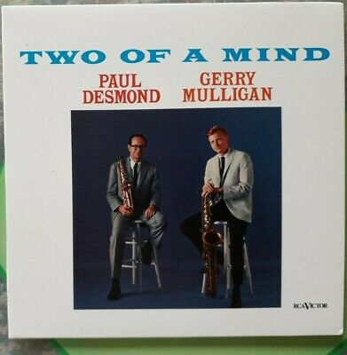 PAUL DESMOND and GERRY MULLIGAN:TWO OF A MIND (1963 Album) RCA CD ~ NEW