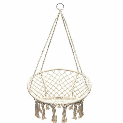 Hanging hammock Rope Swing Chair Macrame Hammock 1-2 Day Delivery UK Stock