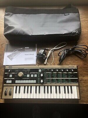 KORG MICROKORG SYNTHESIZER with Power Supply - £199 00