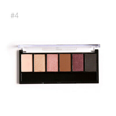 Nude Eyeshadow Palette 6 Color Matte Pearl Eye Shadows Waterproof Natural kl
