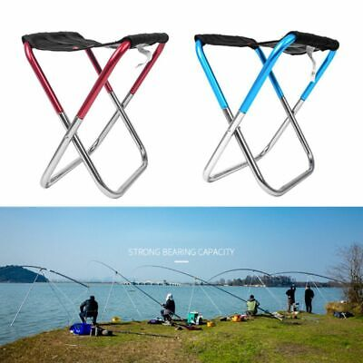 Wide Camping Foldable Chair Folding Portable Outdoor Ultralight Garden Bbq Seat