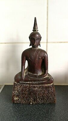 Tribal Buddha From Laos (Early 20th Century)