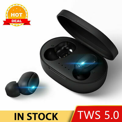 Original NEW XIAOMI Redmi AIRDOTS WIRELESS EARPHONE W/ CHARGER BOX Bluetooth 5.0