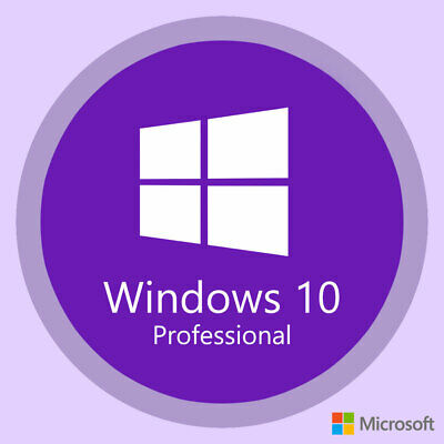 Microsoft Windows 10 PRO Key Professional 32/64 Bit Vollversion via Email