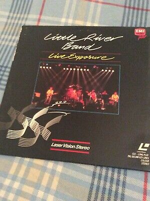 Little River Band Live Exposure USA 1981 Made Great Britain Laserdisc Laser Disc